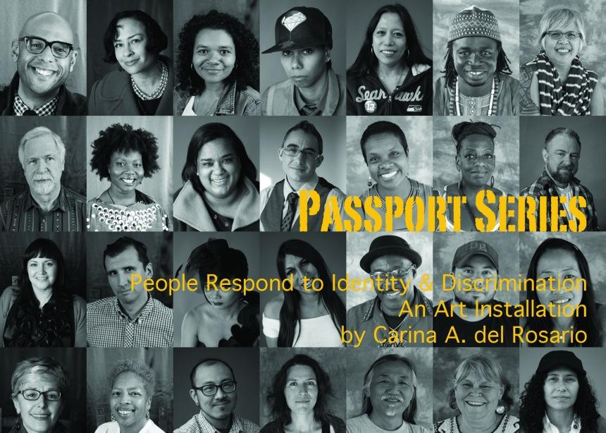 Passports Postcard 5x7 horizontal